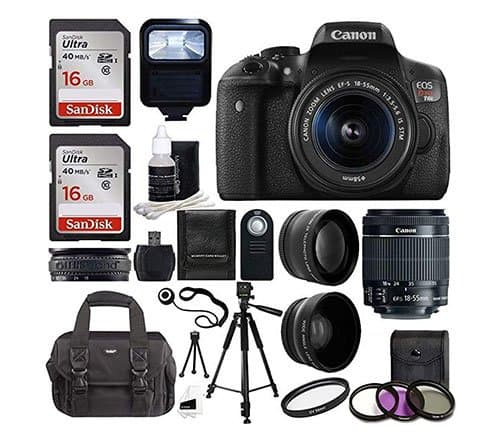 Canon-EOS-Rebel-T6i-amazon-bundle
