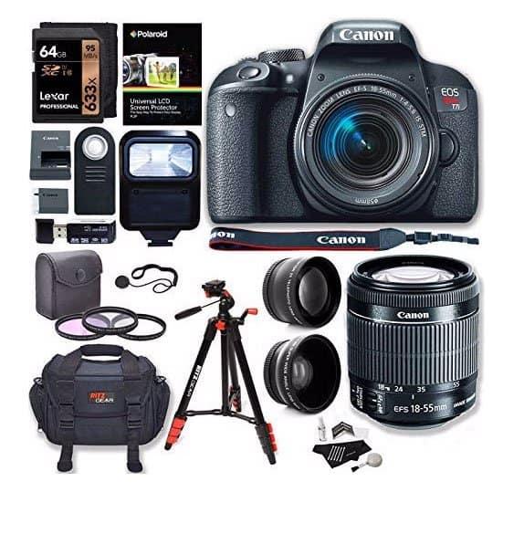 Canon-EOS-Rebel-T7i-Camera-lens-bundle-amazon