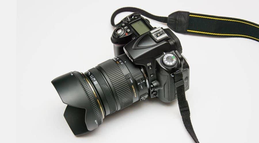 Nikon-D3400-dslr-camera with lens