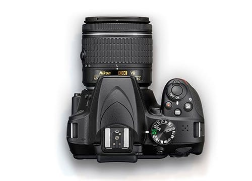 Nikon-D3400-modes-and-record-buttons
