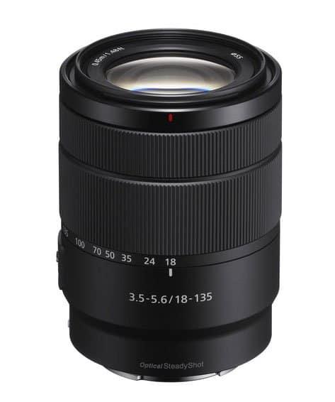 Sony-E-18-135mm-lens