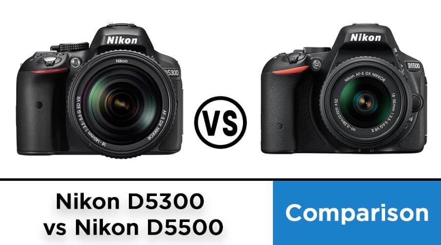 Nikon-D5300-vs-Nikon-D5500-comparison